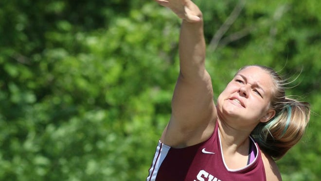 Swain County alum Faith Long was recently rewarded with a roster spot on the Carson-Newman (Tenn.) track and field team.