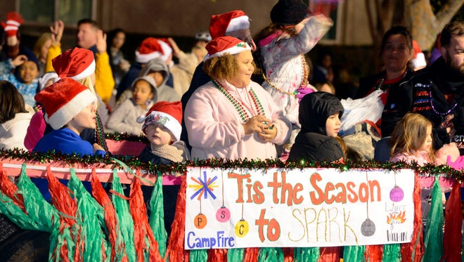 More than 50,000 parade-goers are expected Saturday in downtown Pensacola for the 2017 Cox Pensacola Christmas Parade, which includes nearly 90 entries, and eight bands from Escambia County, New Orleans and Mississippi.