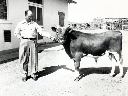 """A photo from June 25, 1950: """"Wesean's Norbeau's Waldo,"""