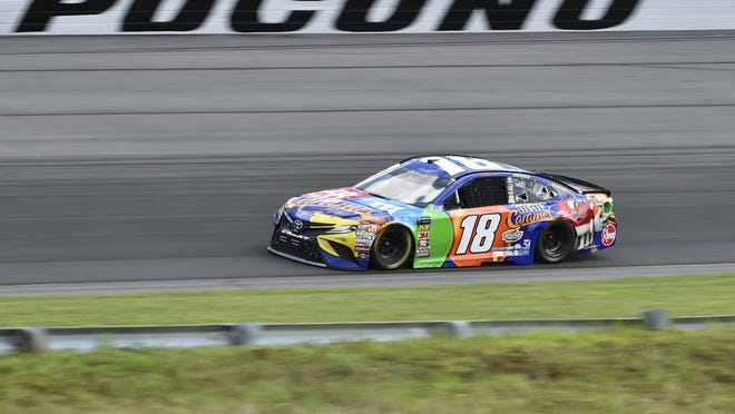 The 2020 race season at Pocono will be a quick one.