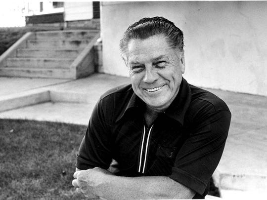 Photo of Jimmy Hoffa taken July 24, 1975,  days before his mysterious disappearance.
