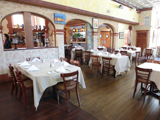 The dining room at Union Restaurant and Bar Latino