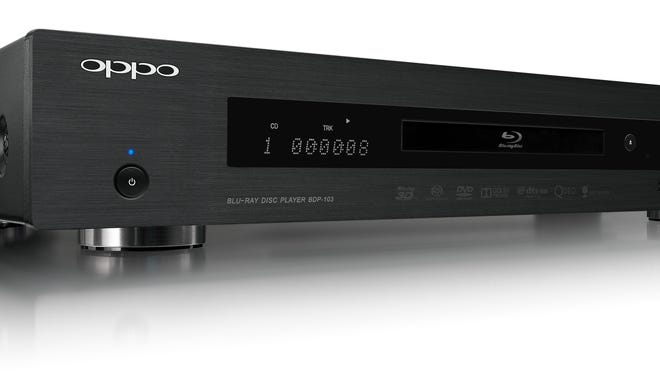 The Oppo Blu-ray Disc Player (BDP-103) handles current Blu-ray Discs, DVDs, CDs and other high-res music discs, too.