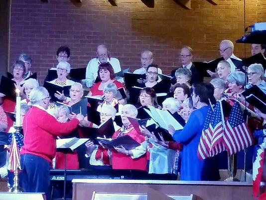 Church pays tribute to veterans photo
