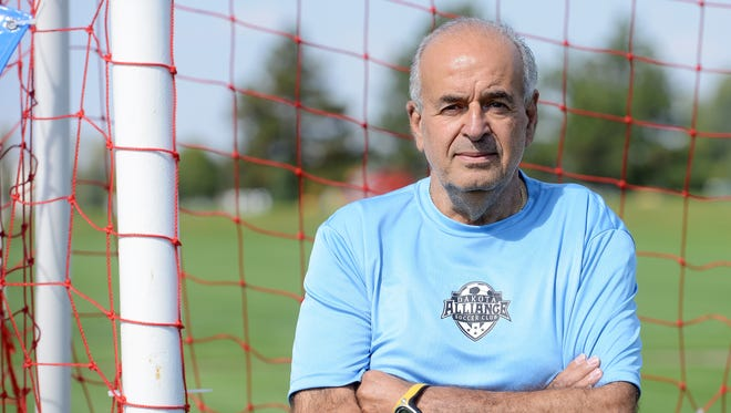 Longtime Dakota Alliance soccer coach Daniel Ohayon is battling cancer but still remains active in the sport.