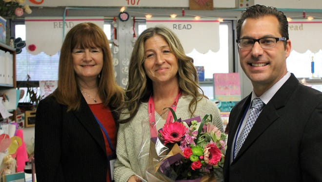 Mary Montes, a first-grade teacher at Tamaques Elementary School in Westfield, is the 2018 recipient of the Westfield Rotary Club's Philhower Fellowship in recognition of outstanding teaching at the elementary school level.