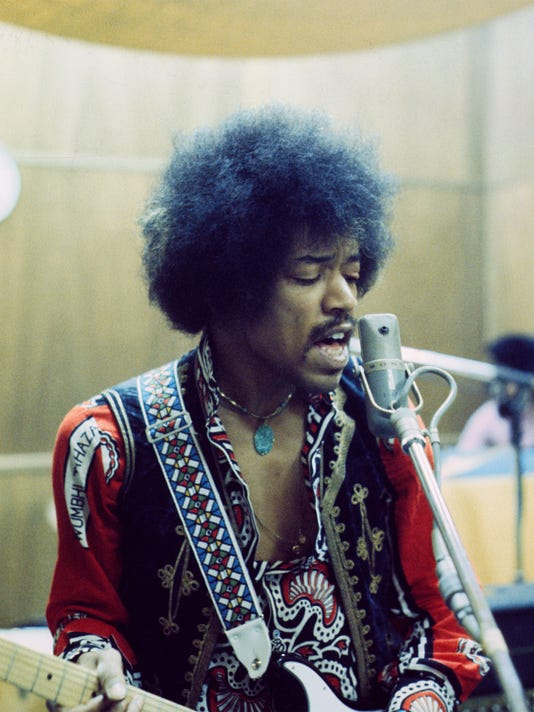 For publicity purposes only on editorial articles surrounding the March 9, 2018 release of Jimi Hendrix: Both Sides Of The Sky.