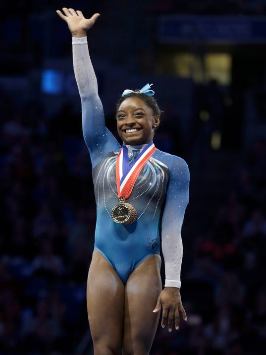 Simone Biles launches sweet campaign before Rio Olympics
