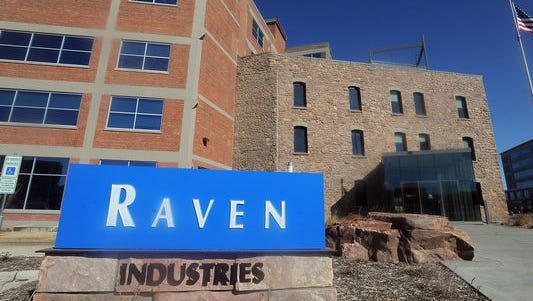 Raven Industries in downtown Sioux Falls.