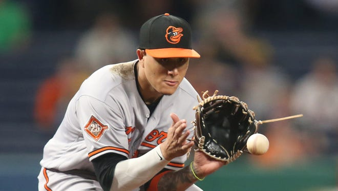 Manny Machado played all last season at third base, but will move back to shortstop for the 2018 season. He played 45 games there in 2017.