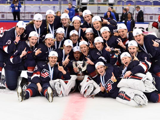 ICEHOCKEY WWC FINAL USA-CAN