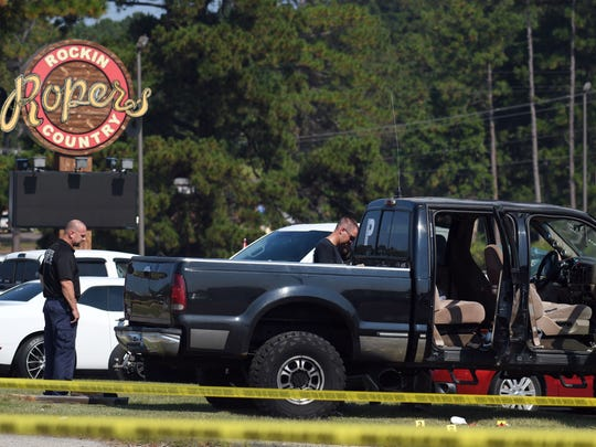 Law enforcement was involved in a standoff outside Ropers Saturday morning. Officials have confirmed the suspect, Bryan Wright, 40, of Petal has died.