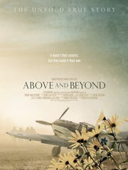 """Movie poster for """"Above and Beyond."""""""