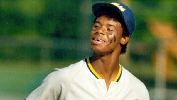 1. Ken Griffey Jr., Moeller: The 13-time All-Star played 22 years in the Major Leagues, which included 630 home runs, 10 Gold Gloves and a .284 career batting average. He was raised in Cincinnati and was a Moeller graduate. He played only two baseball seasons for Moeller, but by the time he was a senior in 1987, scouts rated him as major-league-ready in all offensive and defensive categories. Seattle drafted him No. 1 overall. He made his Major League debut with the Mariners in 1989. During his first decade in Seattle, he became a cultural icon ? from his prized ?89 Upper Deck rookie card to the Nike commercials and video games. The Reds acquired him on Feb. 10, 2000 in a trade for centerfielder Mike Cameron, pitcher Brett Tomko and two minor-leaguers. He announced his retirement from baseball on June 2, 2010. He will be eligible for the 2016 Hall of Fame class.