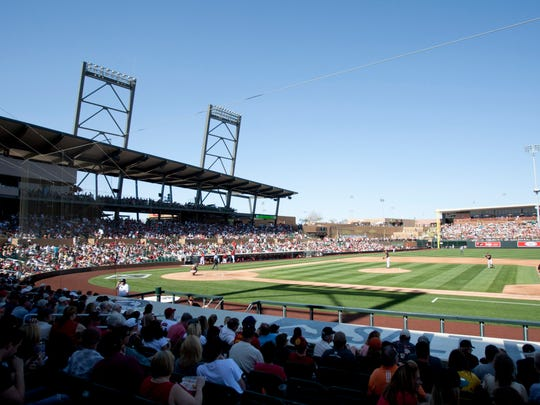 Salt River Fields at Talking Stick opened in 2011.