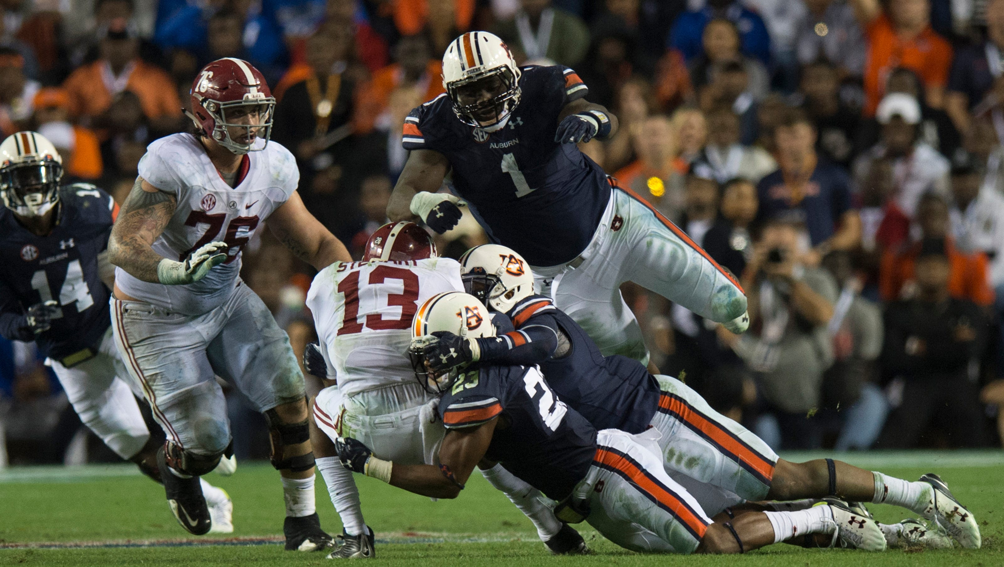 Montravius Adams And Rudy Ford Accept 2017 Senior Bowl