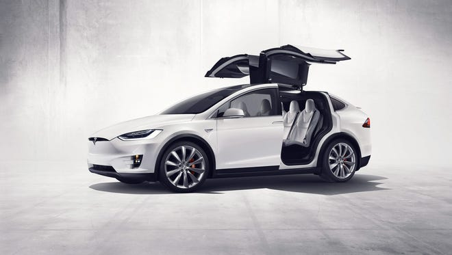 Tesla's Model X went on sale late in 2015. It's 'falcon wing' doors have been the source of reliability issues, according to Consumer Reports.