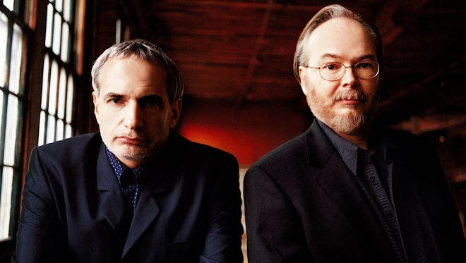 Donald Fagen (left) and Walter Becker will bring Steely Dan to Klipsch Music Center on July 15, along with Steve Winwood.