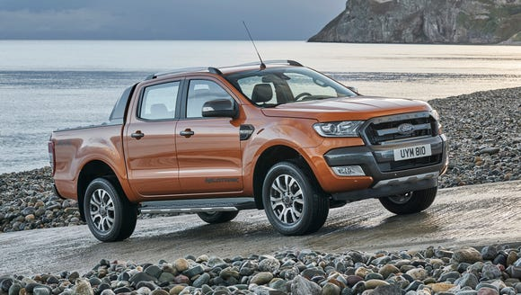 Ford doesn't sell the Ranger pickup i the U.S. yet,