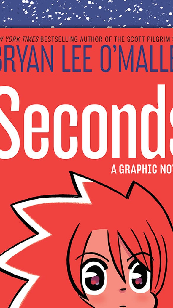 SECONDS - cover