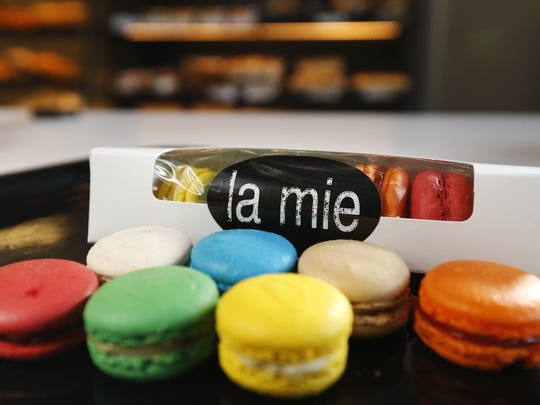 French macarons from La Mie Express in downtown Des