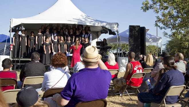 The Phoenix Children's Chorus performs in 2012.