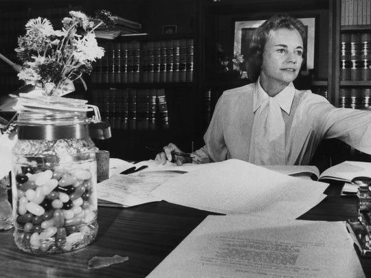 U.S. Supreme Court Justice nominee Sandra Day O'Connor