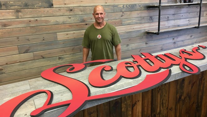 Scott Melick plans to open Scotty's Bierwerks off of Pondella Road in Cape Coral by early 2017.