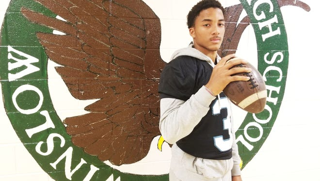 Winslow Township quarterback Prince-Dru Bey accounted for 316 total yards and four touchdowns in 39-3 win over Clearview that kept the Eagles' playoffs hopes alive last Friday.