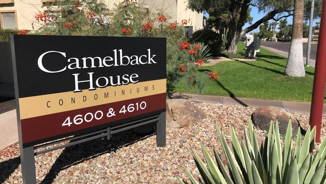 A 94-year-old woman was kidnapped during a home invasion at the Camelback House condominium complex.