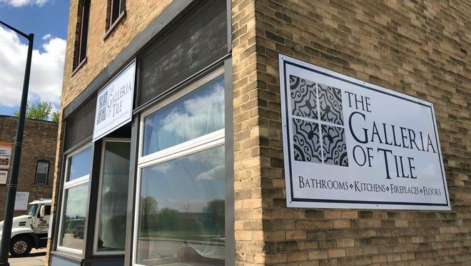 The Galleria of Tile opens May 18 in Kaukauna.