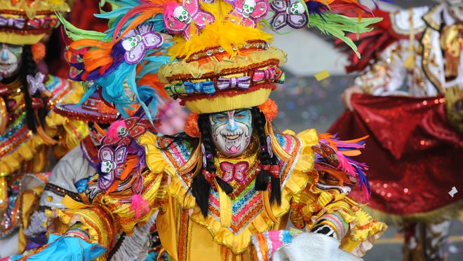 South Philadelphia String Band is the reigning 2016 Mummers Parade Champion.