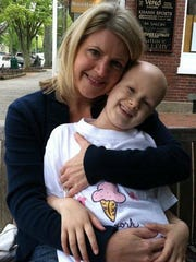 """Laura VanDerBos with her mom Trisha Cwayna, who says her daughter is """"wise beyond her years."""""""