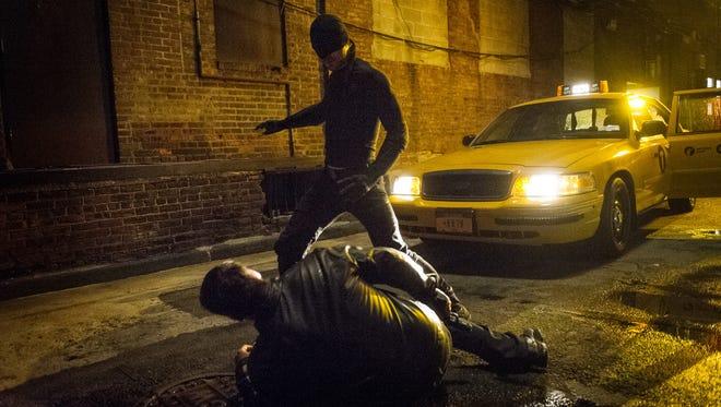 Charlie Cox in 'Daredevil' on Netflix.