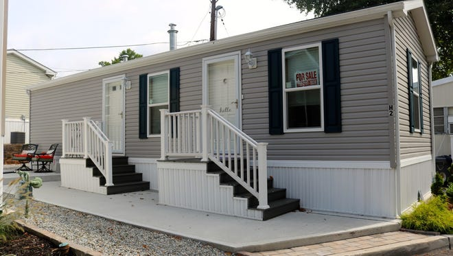 Tour this new one-bedroom manufactured home at Edison Mobile Estates from 1 to 4 p.m. Sunday. It's offered at $56,000.
