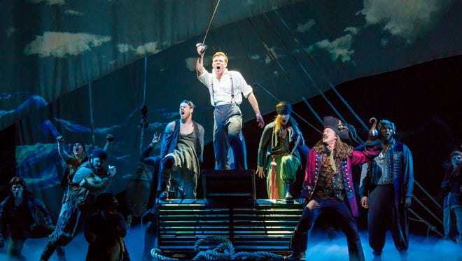 """""""Finding Neverland"""" sails into the Fox Cities PAC on Monday."""