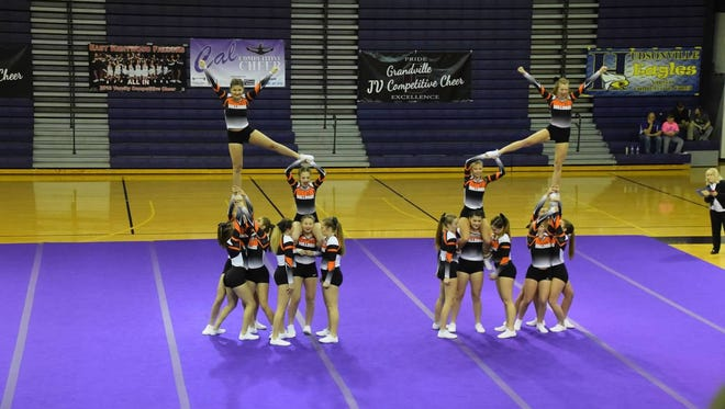 The Brighton competitive cheer team is coming off a trip to the state finals, and aiming even higher in 2017-18.