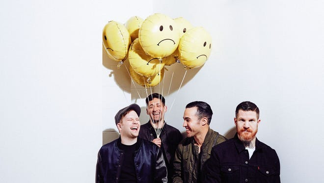Fall Out Boy will perform at the KFC Yum Center Sept. 12.