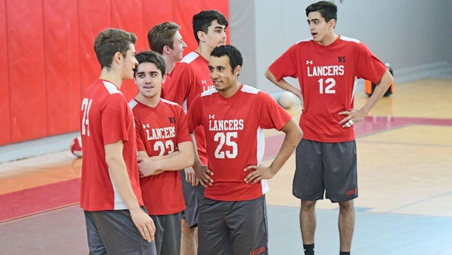 The Lakeland boys' volleyball team remained undefeated after sweeping Belleville on the road on Thursday. The Lancers earned the top seed in the annual Passaic County Tournament for the second-straight year.