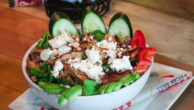 An avocado salad is among the items on the menu at El Paso Mexican Grill, Mexican restaurant chain with locations in Florida and Louisiana. El Paso opened its first location in Santa Rosa County on May 22. The restaurant is located at 5041 Dogwood Dr.