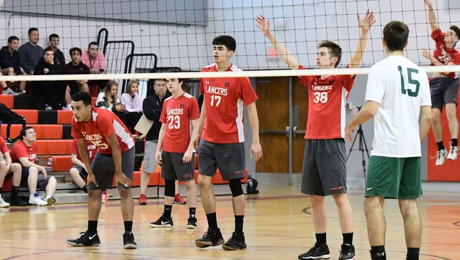 The Lakeland boys' volleyball team defeated 10-Vernon on Thursday afternoon in the North 1 state quarterfinal round.