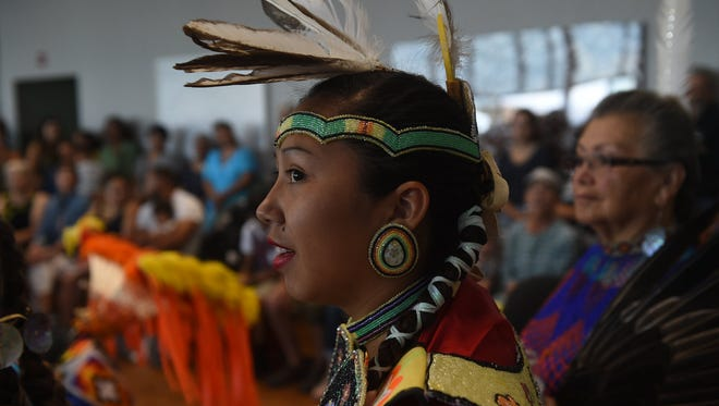Reawakening The Great Basin, A Native American Arts & Cultural Gathering is seen at the Nevada Museum of Art in Reno on July 14, 2018.