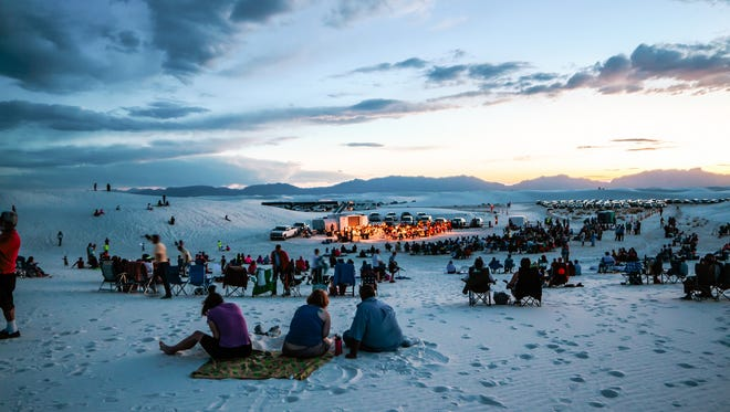 The next Full Moon Night at White Sands National Monument begins at 8 p.m. Sunday, Aug. 26  and will feature Native American flutist Randy Granger.