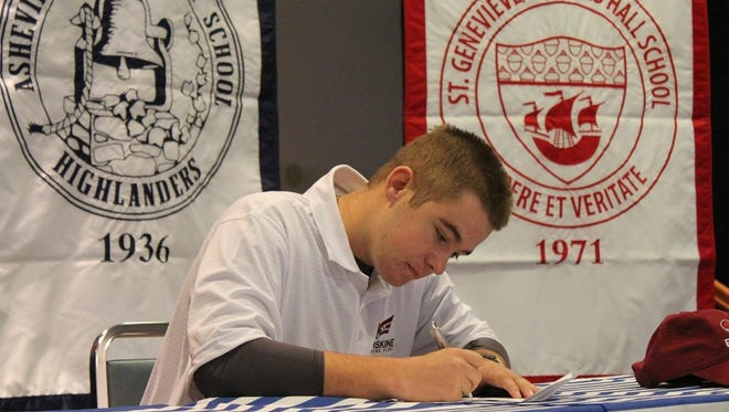 Carolina Day senior Nathan Ball has signed to play college golf for Erskine (S.C.).