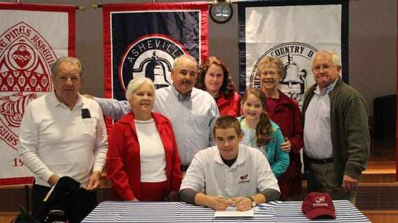 Carolina Day's Nathan Ball has signed to play college