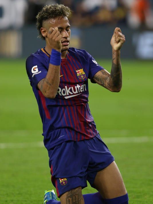 AP 2017 INTERNATIONAL CHAMPIONS CUP - REAL MADRID CF V FC BARCELONA S CPACOM CPASPO CPAPRE USA FL