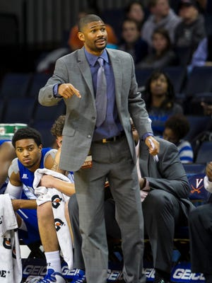 """""""Whatever we have to do to make the organization and make us run, we'll make it run — no matter what it is,"""" Hampton associate head coach Akeem Miskdeen says."""