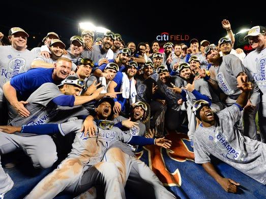 Nov 1, 2015; New York City, NY, USA; Kansas City Royals