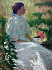 "Charles Webster Hawthorne's 1900 work ""A Study in White"" was part of the art museum's wildly popular American Impressionism show in April. (submitted photo)"