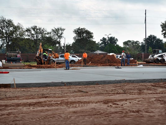 Main Gate Construction 1